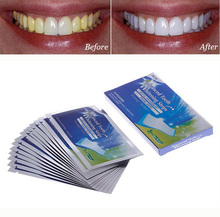 14Pairs Teeth Whitening Strips Care Oral Hygiene Tooth Whitening Bleach For Teeth Men Women With Whiten Gel Clareador Dental