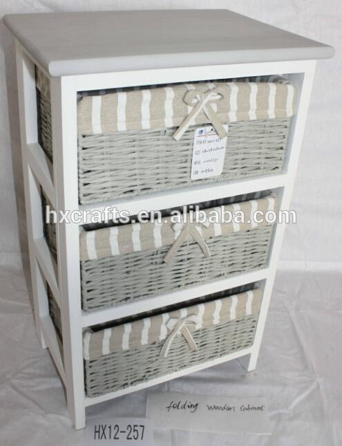 polyvalent meuble de salle de bain rangement 3 osier rotin. Black Bedroom Furniture Sets. Home Design Ideas