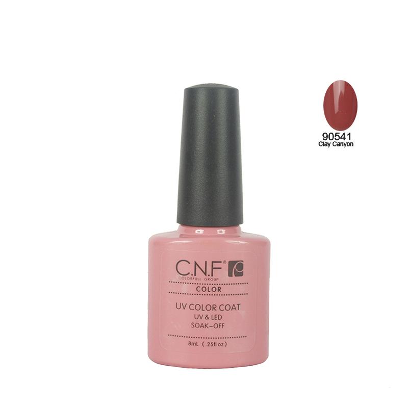 Hot sale 1pcs color 90541 CNF Nail Art Fashion 79colors Soak Off UV Gel Nail Polish