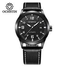 Мужские автоматические часы OCHSTIN Tourbillon, спортивные водонепроницаемые механические наручные часы с кожаным ремешком для мужчин, модные часы...(Китай)