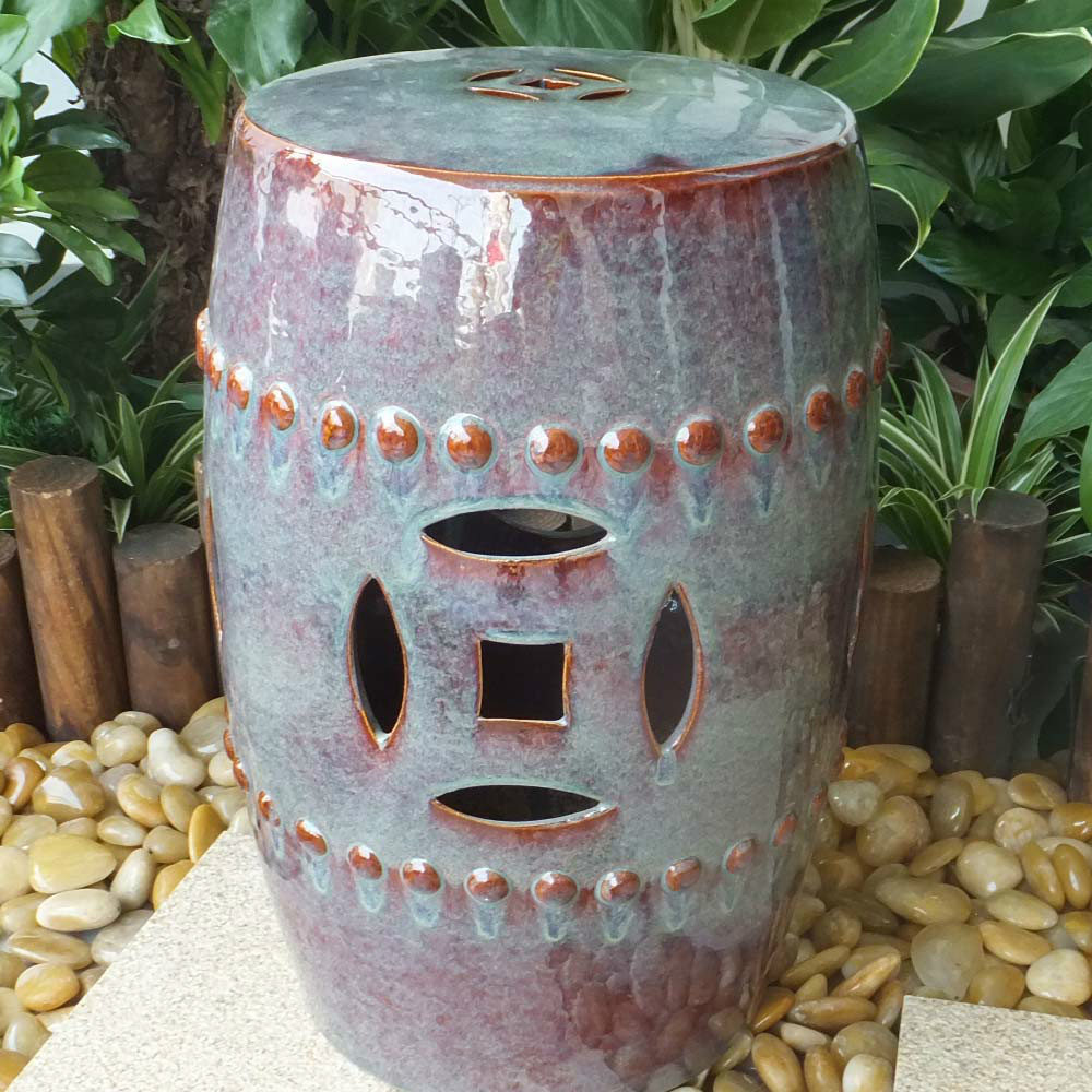 Garden Used Antique Chinese Ceramic Drum Stool Buy