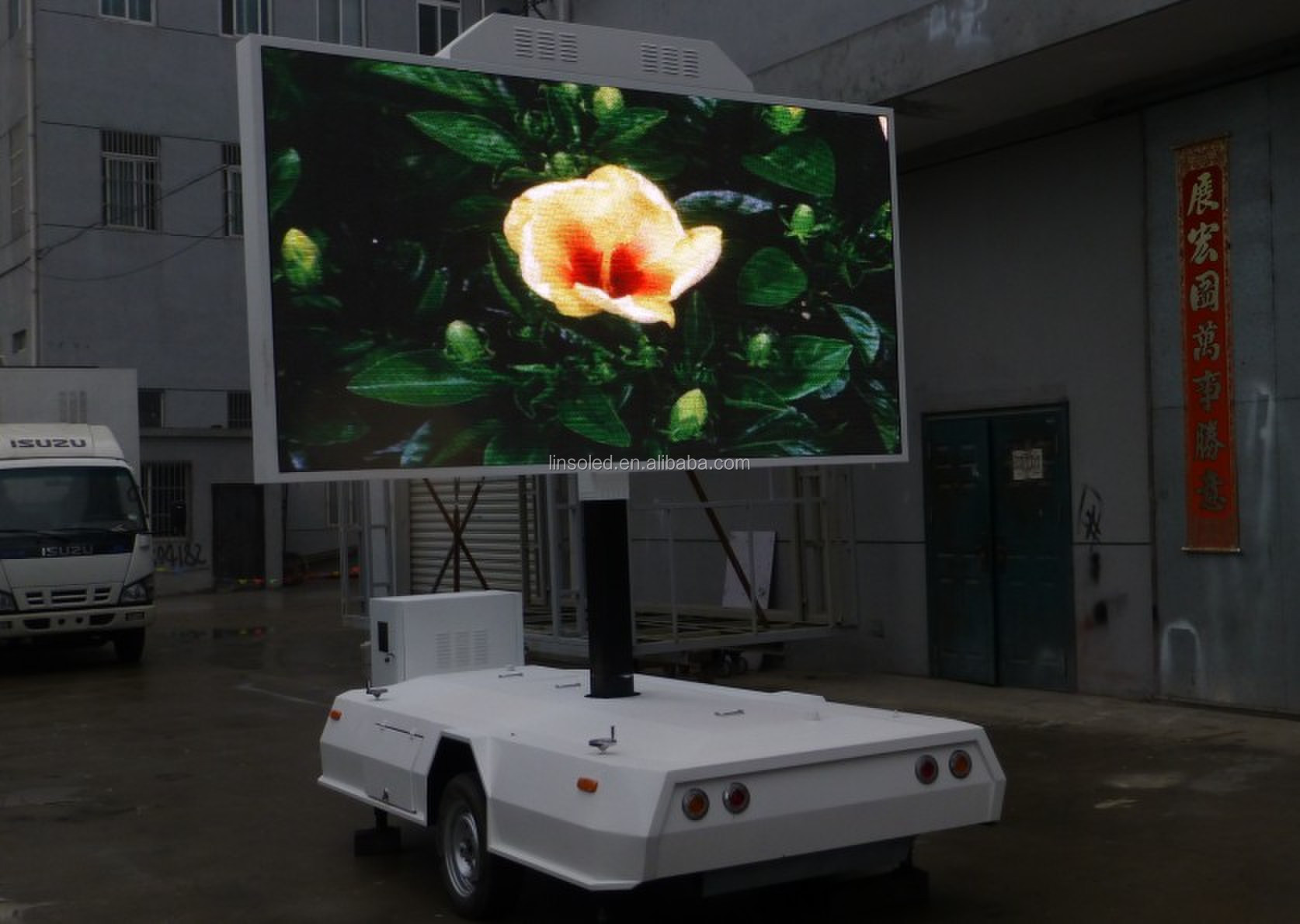 Shenzhen Linso Led Display Vehicle Mobile Advertising Led