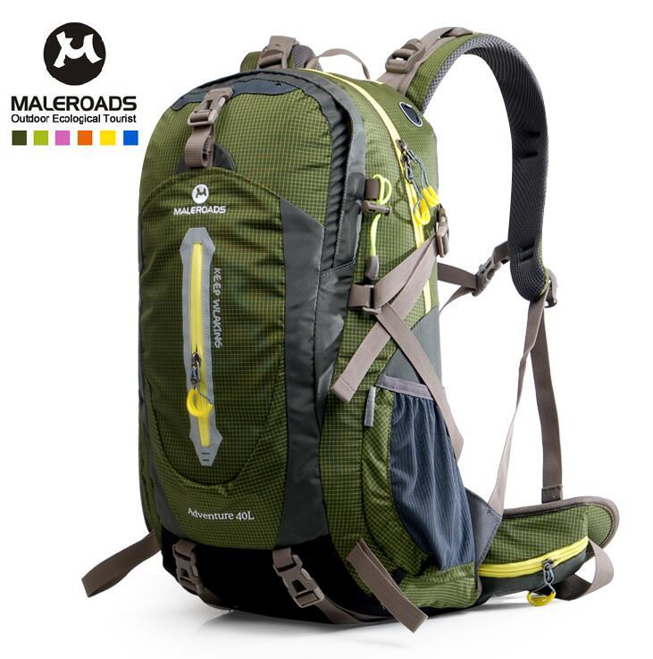 L Camping Travel Hiking Outdoor Backpack Hiking Bag Knapsack