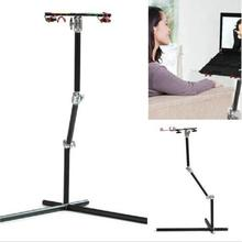Koolertron Black Aluminum Rotatable 10″-17″ Universal Adjust Stand for Laptop With mouse Pad Desk Table 15KG Load Stand By DHL