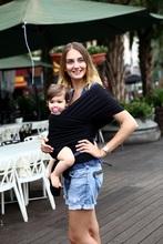 EGMAOBABY Porte-Bébé Sling Pour Nouveau-nés Souple Infantile Wrap Respirant  Wrap Siège Pour 9749370a930