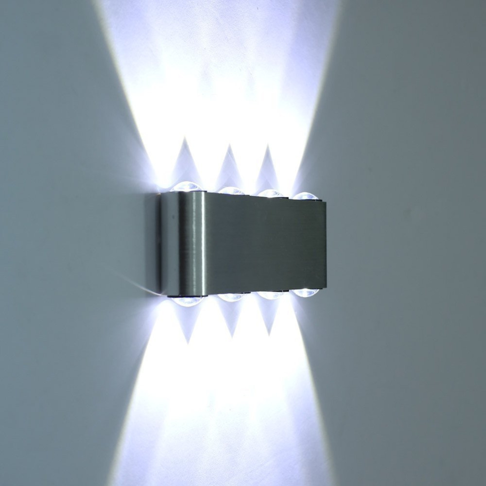 buy new 8w led wall sconce lamp lights for hotel aisle step hall bedside up. Black Bedroom Furniture Sets. Home Design Ideas