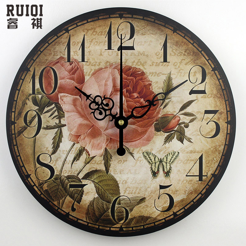 3d Decorative Wall Clocks Absolutely Silent Living Room