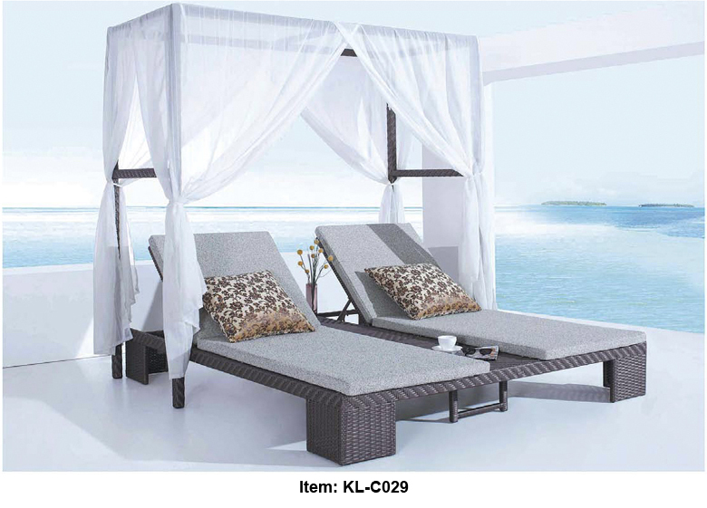kl c029 nouvelle arriv e livraison gratuite bonne qualit ext rieure double lit la piscine. Black Bedroom Furniture Sets. Home Design Ideas