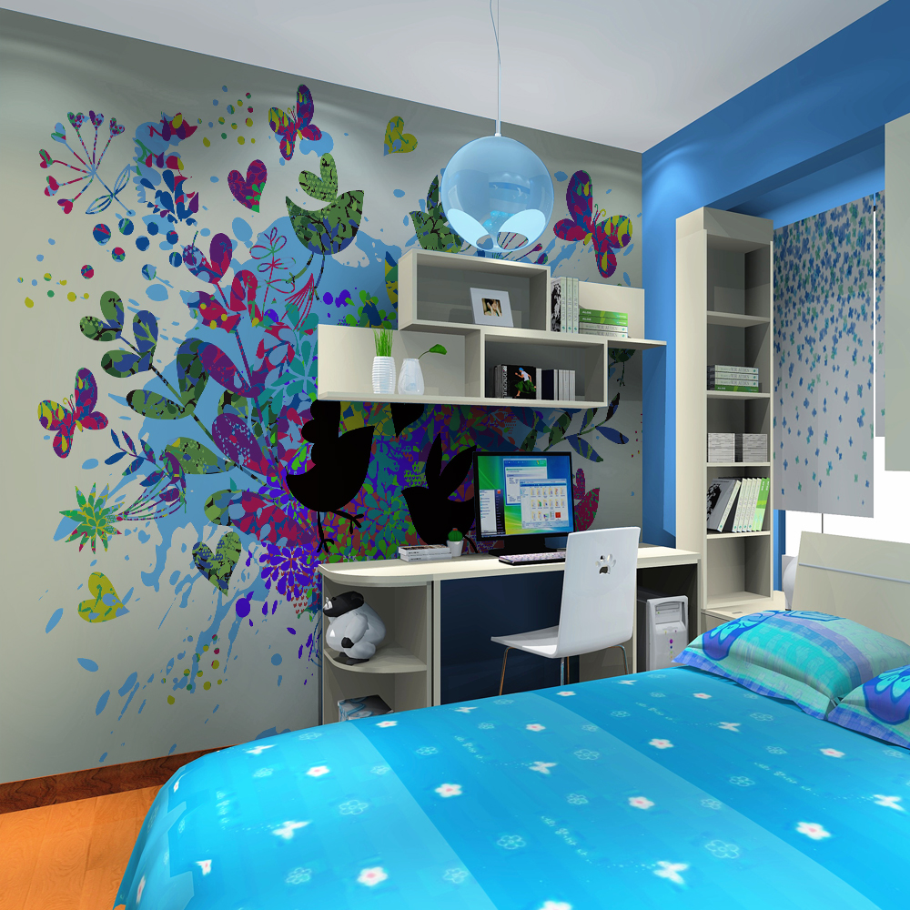 Modern Nursery Wallpaper: High Quality Modern Desgin Customization Kids Room Nursery