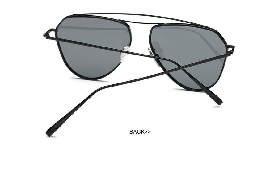 b84590a2b11 New Fashion Lady Frame Unique Geometry Sunglasses Classic Brand ...