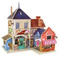 Exquisite Building 3D Puzzle Jigsaw Wooden Toys Children s Educational Wooden Chalets FCI