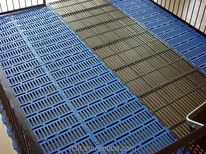 400mm 600mm Plastic Slat Floors Pig Plastic Floor Covering