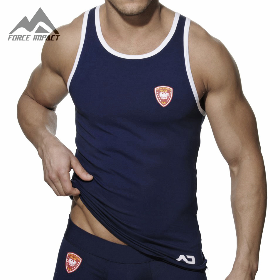 Aliexpress.com : Buy Athletic Slim Fitted Cotton GYM Men's