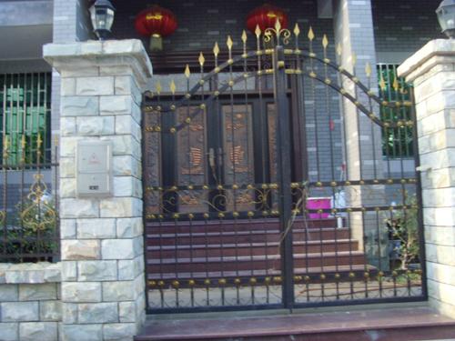 Wrought-iron-patio-doors-Patio-door-factory-gate-villa