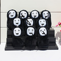 Cartoon Anime Spirited Away No face Stuffed Plush Toys Wity Tag Soft Doll With Ring 10cm