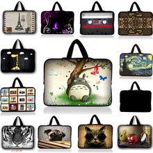 7 10 12 13 14 15 17 Neoprene Laptop Bag Tablet Sleeve Pouch For Notebook Computer Bag 13.3 15.4 17.3 For Macbook Air / Pro #6