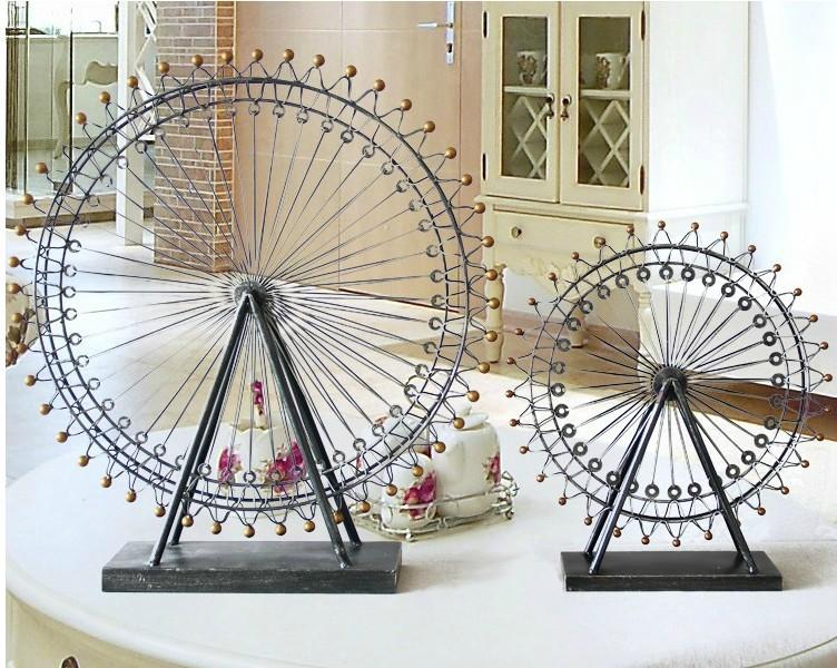 Wedding Gifts London: Free Shipping Iron London Eye Ferris Wheel Ornaments