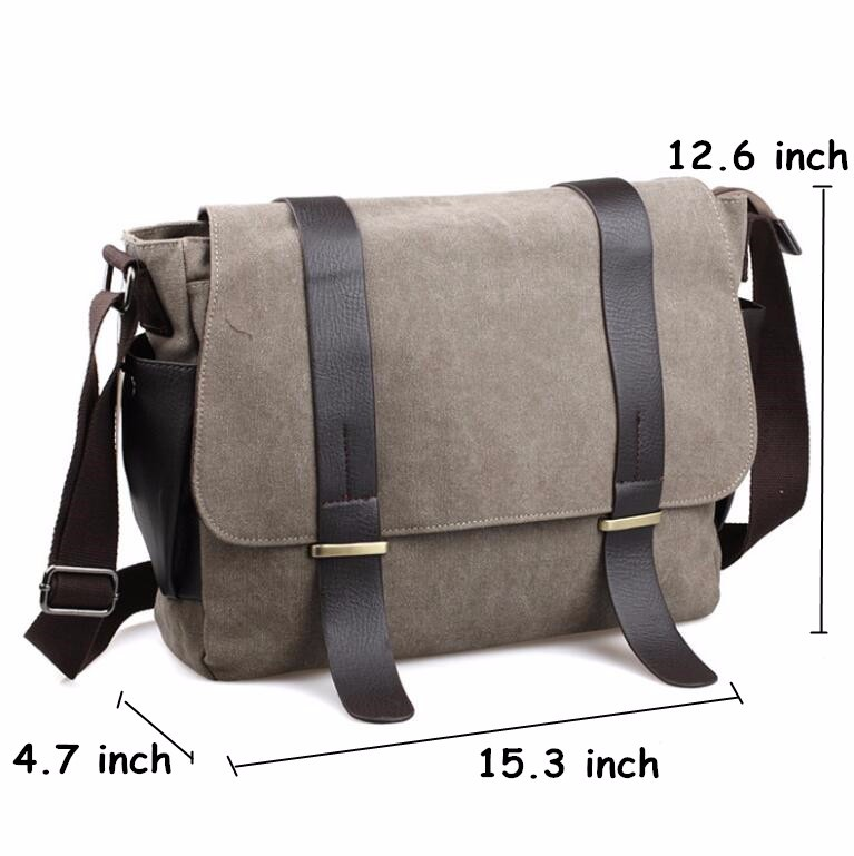 Wholesale Designer Briefcase Men Messenger Bags Vintage Canvas ... a62fc1f1da4d6
