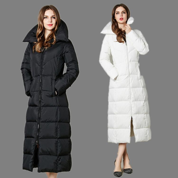 High Quality X long Duck Down Jacket 2016 Brand New font b Winter b font Long