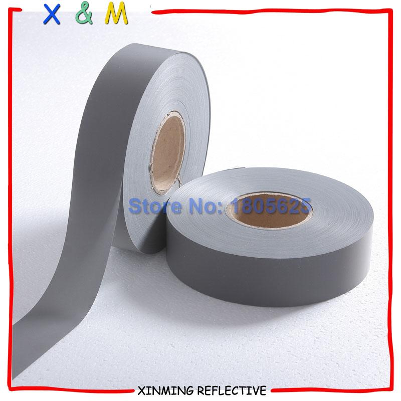 Светоотражающие ткани EN471 высокой отражательной ткани для безопасности износ серебристый цвет