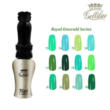 Free shipping Royal Emerald Series 12 pcs FeiFan soak off LED Gel Nail Polish 15ml 12