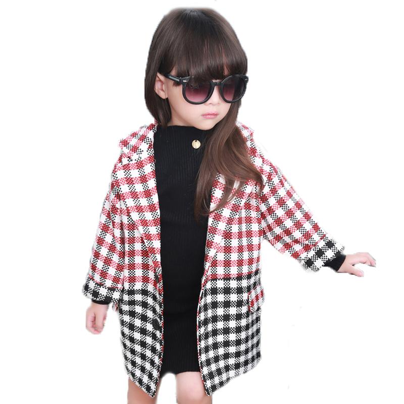 Girls Designer Winter Coats Han Coats