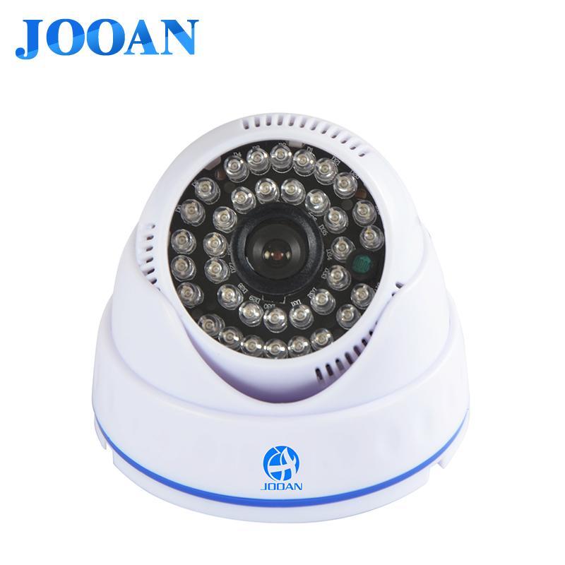 Indoor Surveillance HD Conch Dome Camera 800TVL 1 / 3COMS CCD 24 IR LEDs