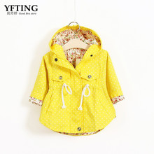 new Girl's Fashion jackets Girls Outerwear & Coats Trench Girls Hoodies Jackets, Children's Coat, winter Autumn Baby Coats