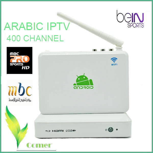 arabic iptv box inclueds mbc and bein sports , arabic iptv see art channel for