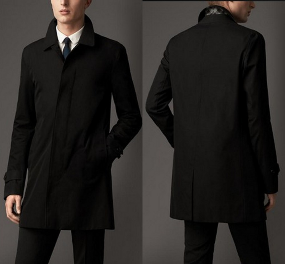 Classic Brown Trench Coat