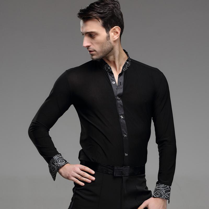 Mens Latin Dance Shirt 111