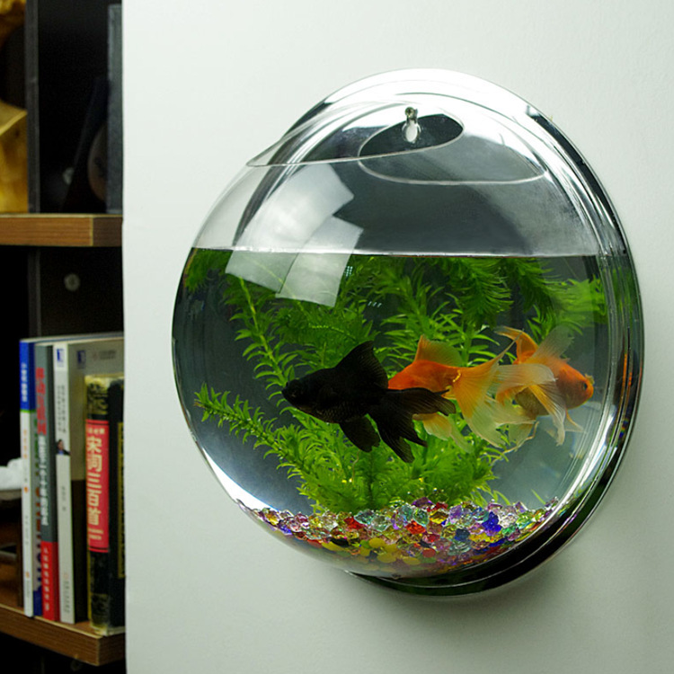 2016 Newest Hot Sale Wall Hanging Mounted Bubble Aquarium