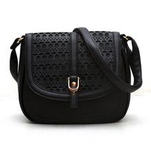 2015 new crossbody bags for women hollow out pu shoulder handbags bolsas femininas bag female messenger bag for women