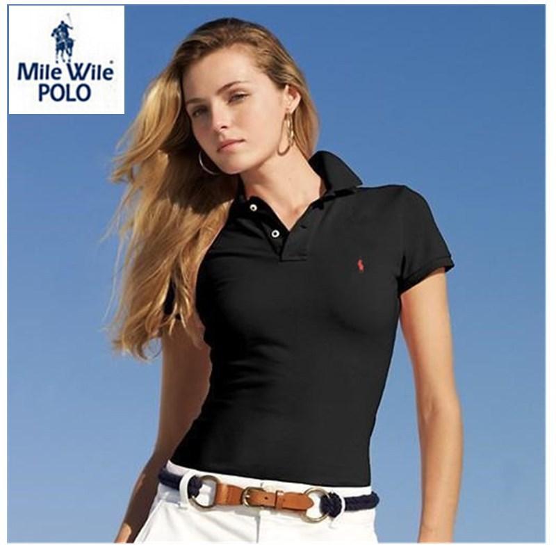Компактный лошадь поло женщины camisas поло mujer роковой женщины поло хомбре поло рубашки Feminina рубашки