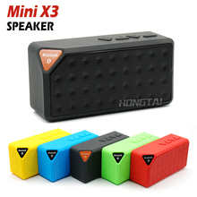 Mini X3 Bluetooth Speaker Portable Wireless Handsfree TF FM Radio Built in Mic MP3 Subwoofer with Detachable Battery 2015 New