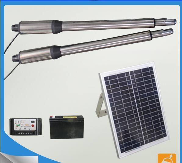 Font B Solar B Font Panel Power System Linear Actuator Swing Font B Gate B on Linear Actuator For Electric Automatic Gate Opener View