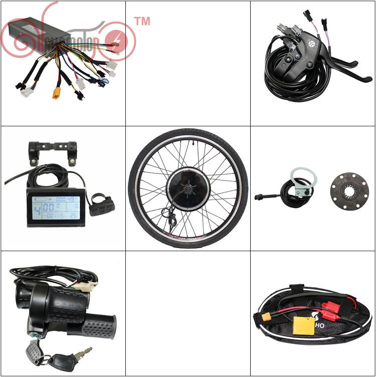 Popular Front Wheel Electric Bicycle Conversion Kit-Buy