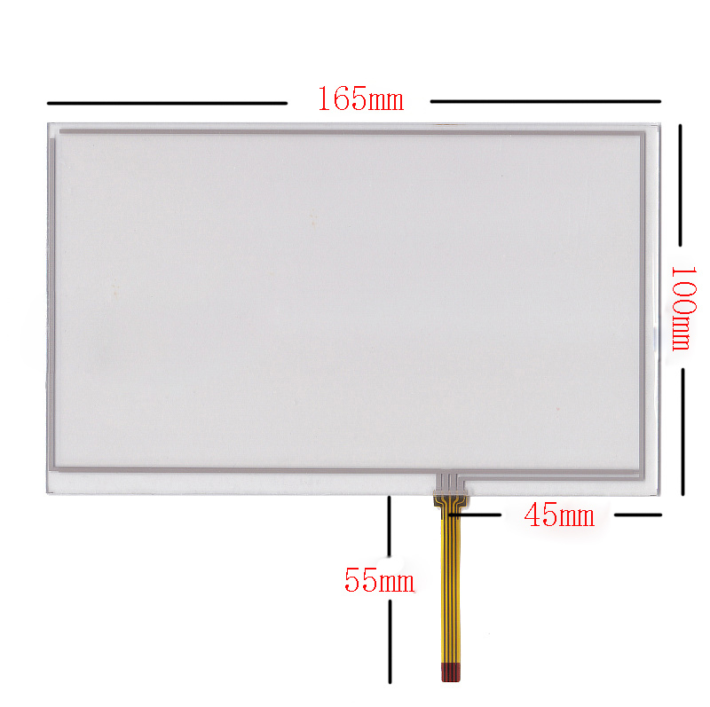 New 7 Innolux AT070TN92 90 94 93 HSD070IDW1 touch screen digitizer panel 165mm 100mm
