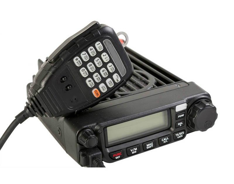 60 Вт укв 136 - 174 мГц или UHF 400 - 490 мГц мобильный двухстороннее радио TM-8600