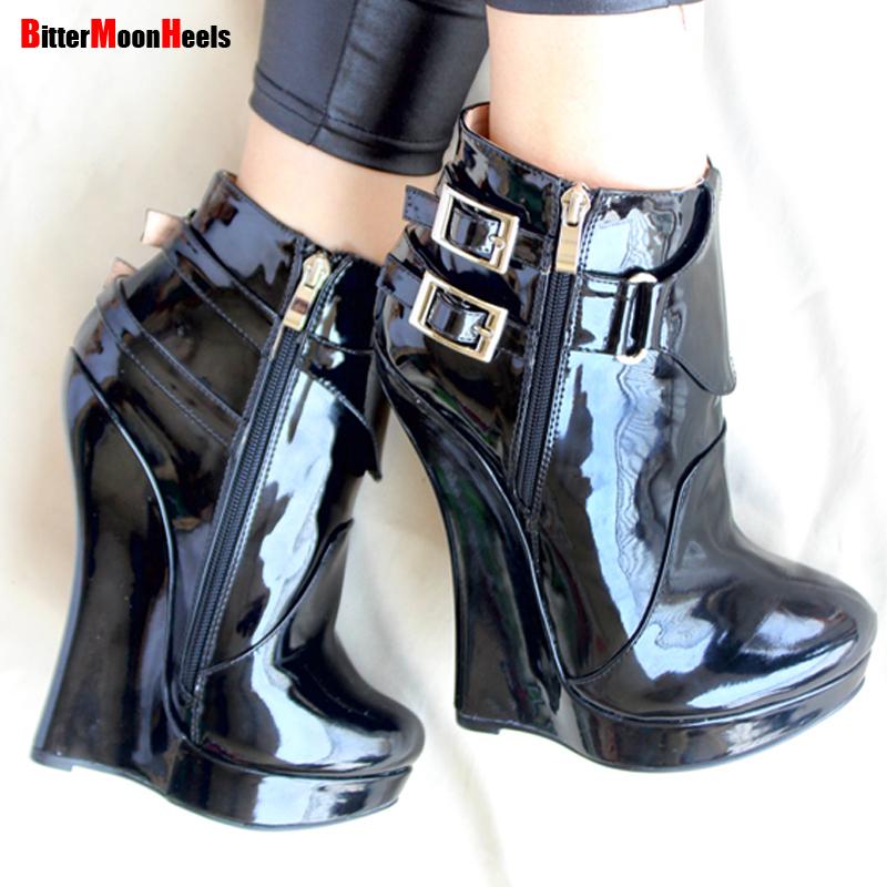 High heel boots fetish