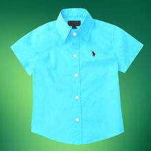 Children s short sleeve shirt Han edition summer wear children s wear boy cuhk children s