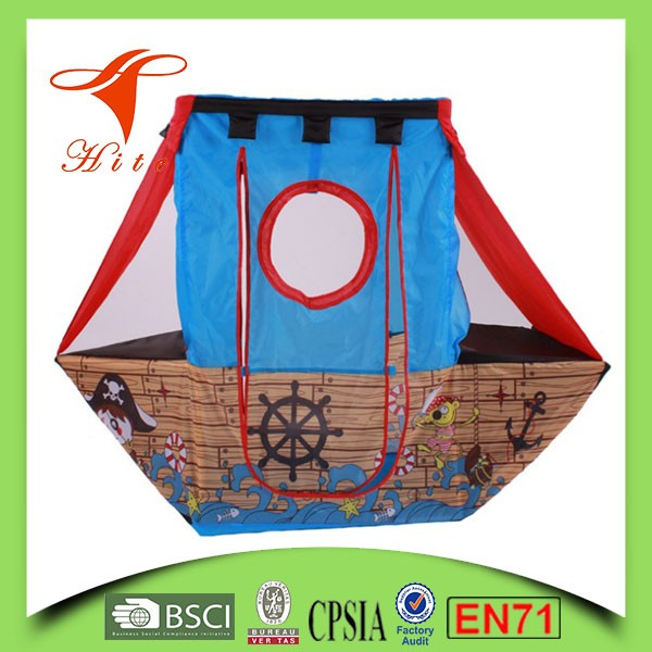 Kids Folding Pirate Boat Play Tent Buy Kids Folding