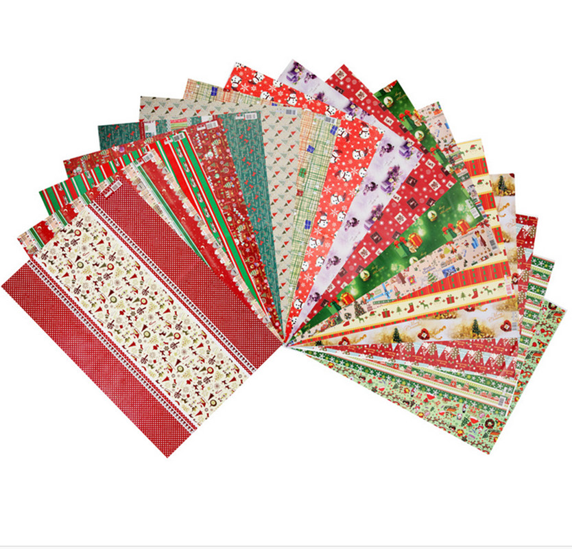 popular christmas wrapping paper buy cheap christmas wrapping paper lots from china christmas. Black Bedroom Furniture Sets. Home Design Ideas