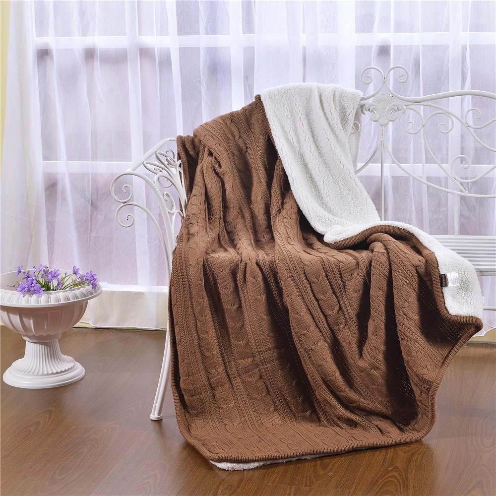 KISS QUEEN New Arrival Plain Dyed Brown Manta Cotton Cashmere ... e5bb29c8d