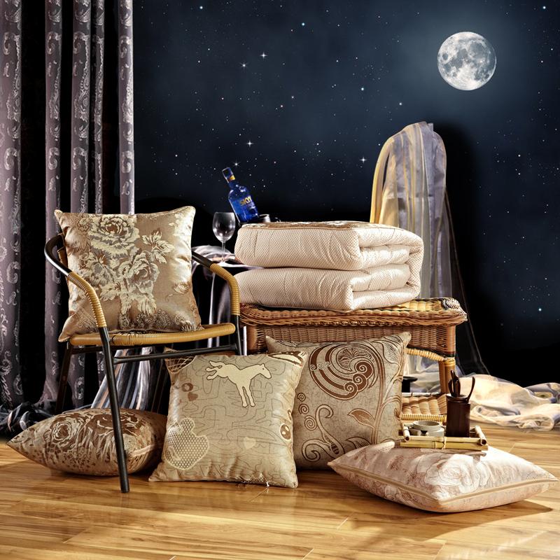 Cushion blanket 40*40 cm Home Decor Novelty Black Husband