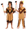 Child Boy Girl Native American Indian Princess Dress Cosplay Costume Soldiers Warrior Fancy Dress Birthday Party