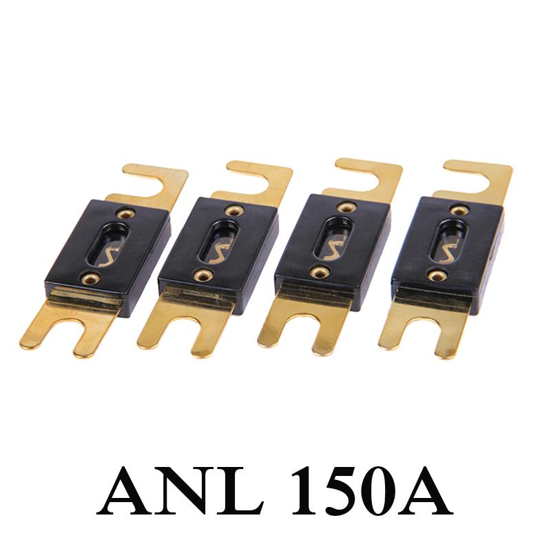 В наличии 1 шт. 150AMP 150A ANL предохранитель позолоченные для аудио