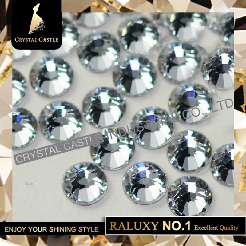 Super Grade AAAAA Luxury SS10 2 7 2 9mm Crystal Flatback No Swarovski Hotfix Strass Nail