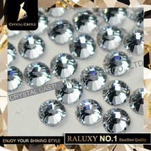 Super Grade AAAAA Luxury SS10 2.7-2.9mm Crystal Flatback No Swarovski Hotfix Strass Nail Art Rhinestones Hot Fix For Women Shoes