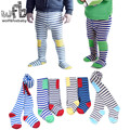 Retail 0 36months tights stockings fashion striped thickened children Kids infant Baby Combed Cotton spring autumn